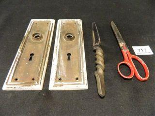 Doorknob Backplates 2  Knife