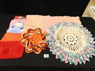 Crocheted Items  Doilies