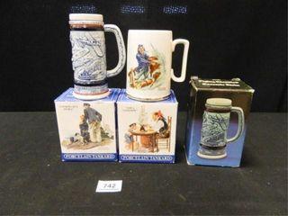 long John Silver s Mugs  Avon Mugs