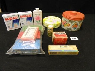 Metal Cans  Vintage First Aid Items