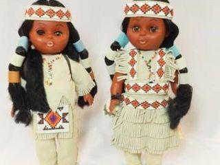 Carlson Cherokee Chief  Princess Dolls