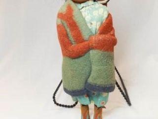 Skookum Indian Female Doll w  Child