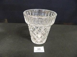 Crystal Flower Pot Vase