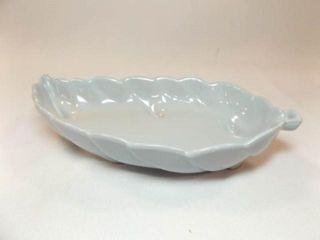 Frankoma Blue leaf Dish  9