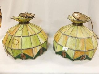 Handcrafted Tiffany Style lamps  2