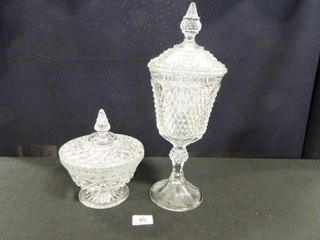 Glass Containers w lids   2