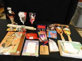 Asian Decor  Assorted Items