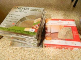Nexus Vinyl Floor Tiles  12  x 12