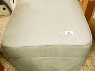 Ottoman  Rocks  Grey Fabric