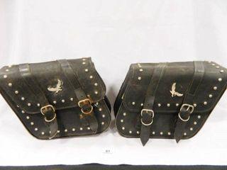 Willie   Mike Slant Saddle Bags