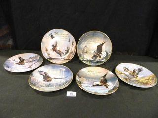 Eagle Plates w Bible Verses   6
