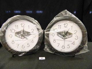 Top Quartz Wall Clock Ther a Pedic