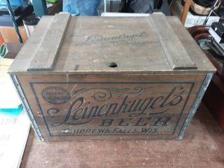 Leinenkugel's Crate With Steel Trim