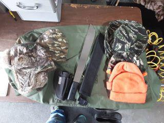 Army Bag, Hunting Hats, Machetti Holster