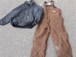 Carhartt Jacket Size XL, Field & Forest Bibs Size Large/Short