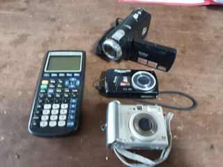 Texas Instruments Graphing Calculator, (TI 84+), 3-Digital Cameras