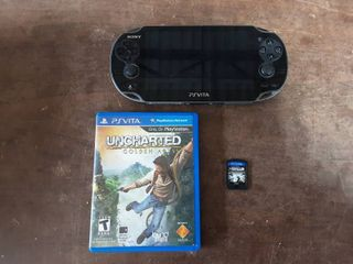 Sony PS Vita (No Charger) With 2-Games