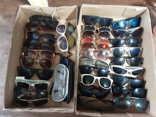 Lot Of Assorted Sunglasses (32 Pair), 1-Ray Ban Readers