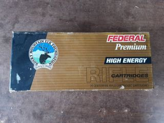 Federal Premium High Energy .338 Win. Mag. 225 Grain Trophy Bonded Bear Claw Full Box Of 20