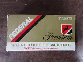 Federal Premium .338 Win. Mag. 250 Grain Nosler Partition Bullet Full Box Of 20