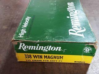 Remington .338 Win. Mag. 225 Grain PTD Soft Point Full Box Of 20