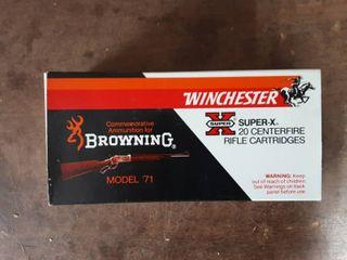 Winchester .348 200 Grain Silver Tip Full Box Of 20