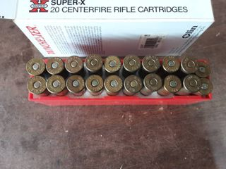 Winchester & Peters .348 Box Of 18