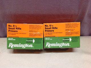1000 Remington No 6 1/2 Small Rifle Primers