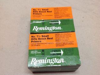 1000 Remington No 7 1/2 Small Rifle Bench Rest Primers