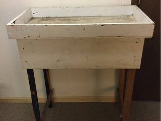 Homemade Wood Work Table