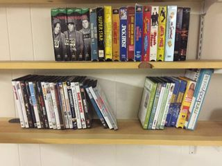 VHS   DVD Movies and Workout Videos