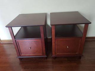 Pair of Filing Cabinet Nightstands