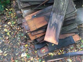 2 Stacks of Wood Shake Shingles   BRING HElP TO lOAD