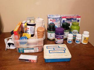Supplements  Sinus Rinse Aids  Kleenex and Medical Supplies