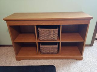 6  Cubby Storage Cabinet   47 in  A 15 in  x 30 in