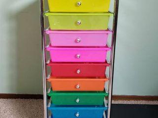 10 Drawer Roling Organizer Utility Cart