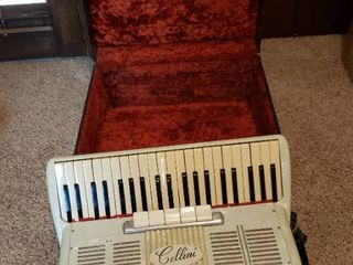 Vintage Cellini Accordian with Case
