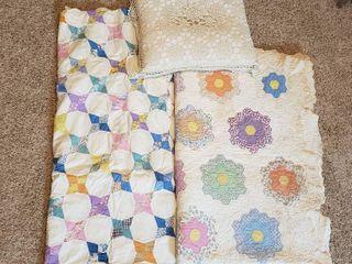 Quilt  Quilt Topper and Pillow