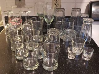 Glasses   Wine Glasses  Bar Glasses  Mug  Tumblers  and Shot Glasses