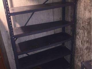 Metal Shelf unit   68in T x 36in W x 12in D  IN BASEMENT