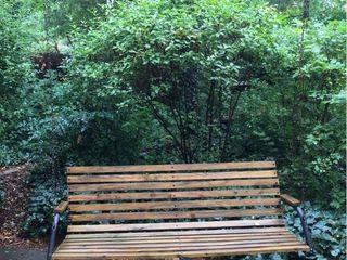 Wood   Metal Porch Deck Swing