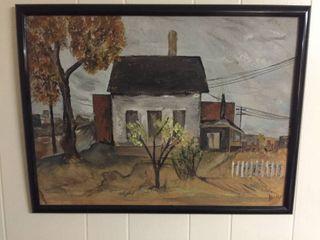 2 Framed Paintings