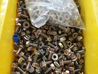 Misc Bolts with Attached Washers