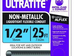 Southwire 55094221 25 Feet Ultratite Type NM 1 2 Inch Non Metallic liquid tight Flexible Conduit