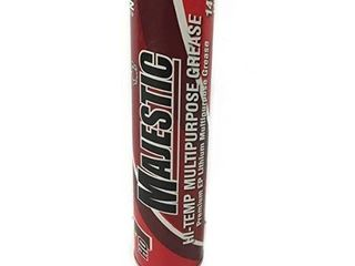 Majestic Hd1 14oz Tube Hi red Temp Grease