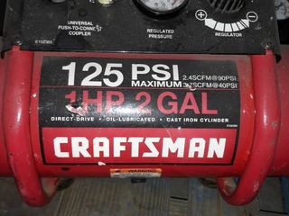 Craftsman 125 PSI Air compressor