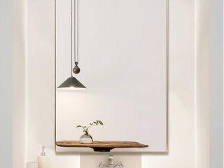Modern Aluminum Alloy Thin Framed Full length Floor Mirror Retail 249 49