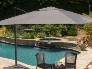 Royal Water Resistant Fabric Canopy Umbrella  No Base