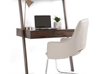 Aleck Desk Warm Walnut Brown   Simpli Home