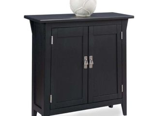Mission Foyer Cabinet Hall Stand   Slate